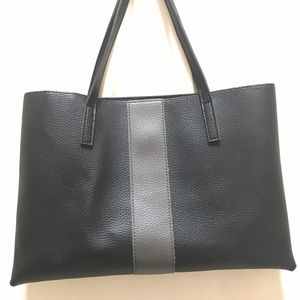 Vince Camuto Black Luck Tote Bag